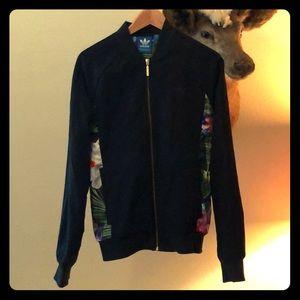 Adidas Warm Up Floral Print Jacket